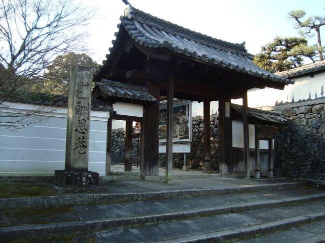 紅葉の時期にニュースステーションで出ていた、一休寺。行きたかったが年も越えてしまった。<br /><br />正月もおわり、体重増加(T_T)。 そこで、お天気もいいので歩いていくことにしました。<br /><br /><br />   酬恩庵 一休寺 <br /><br />   京都府京田辺市薪里の内102 0774−62−0193(イッキュウサン)