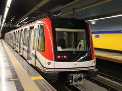 カリブ諸国初の地下鉄に乗車