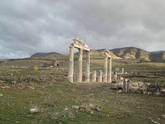 パムッカレの石灰棚と古代遺跡