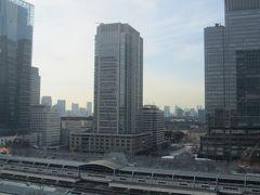 大丸12階より見られる東京駅付近の風景