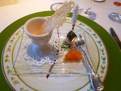 白い樹氷の軽井沢で優雅なリゾート♪ Vol4(第2日目:昼) ☆冬の仏蘭西料理「ル・ベルクール」で優雅なランチ♪