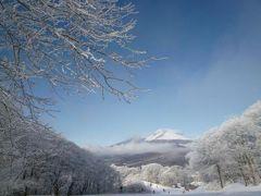白い樹氷の軽井沢で優雅なリゾート♪ Vol7(第3日目:午前) ☆軽井沢プリンススキー場で美しい樹氷を眺めながら優雅にスキーを滑る♪