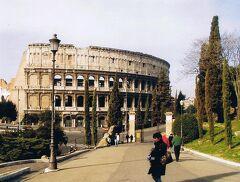 2003年、早春のイタリアとちょこっとパリ 1 ローマ