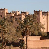 2012正月、モロッコ王国旅行記(15):1月8日(1):ワルザザードで泊まったホテル、カスバ街道をエルフードへ