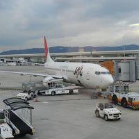 出発~鹿児島空港◆2011年年末・南九州4県の旅≪その1≫