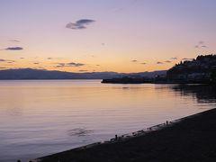 新年バルカン・アドリア横断旅行2012マケドニア編2 ~どうよ、オフリド、すみずみ、湖~