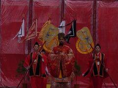 首里城 2012元旦 朝賀の儀式「朝拝御規式」(ちょうはいおきしき) 初詣は首里観音