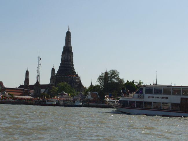中国の春節休暇を利用して、タイへ家族旅行。まずは、バンコクに滞在しました。