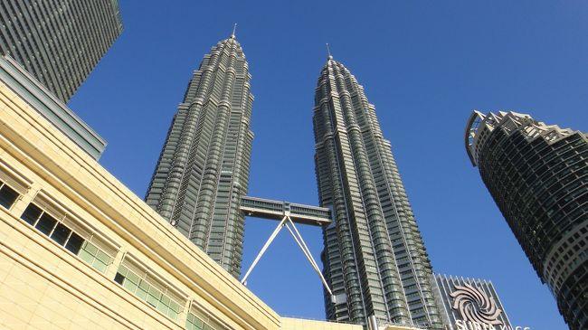 マレーシア クアラルンプール ぺトラナスツインタワー