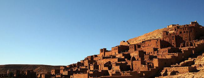 年末年始モロッコ旅� 世界遺産アイト・ベ...