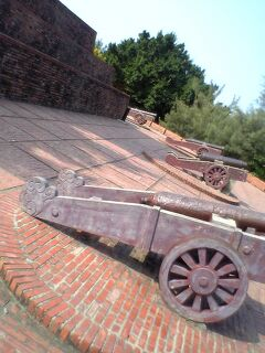 2006年 初一人旅は台南・台北 2 安平古堡
