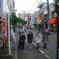 真冬の東京、下町、ぶらり旅(池袋から庚申塚、巣鴨へ)