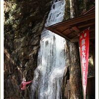 Solitary Journey[995]高さ20mの岩壁に垂れ下がる寒波で凍った幻想的な氷柱<野呂山839m頂上付近唯一の滝・玉すだれの滝>広島県呉市