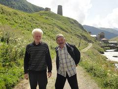 ヨーロッパで1番の標高:ウシュグリ村、なんてステキな光景!~2011年夏・コーカサス3か国+モスクワ旅行19日間・12~