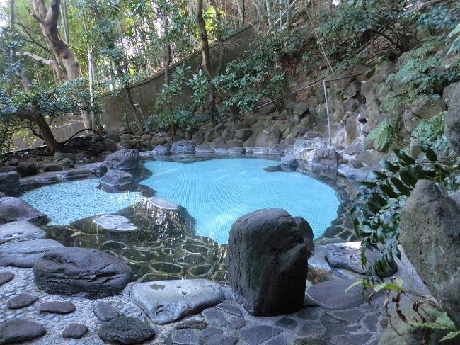 2012年2月11日ー12日。蓮台寺から電車で熱海に戻り、「東横イン」に宿泊し、翌日は湯河原温泉「伊豆屋旅館」の露天風呂に日帰り入浴(1000円)です。昼食を付けると高かったので、入浴のみとしました。竹林や木々に囲まれ静かな環境で、鳥のさえずりを聞きながら、源泉掛け流しの露天風呂をのんびり楽しんできました。