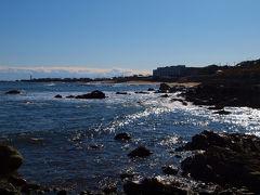 快晴 銚子の海
