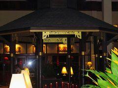 カンボジア21 フランス料理のディナーで乾杯 ☆ソフィテルアンコール内で