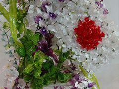 第22回世界ラン展⑥ ガラスで出来たランの花