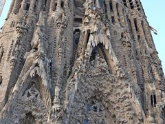 2011.12スペインカタルーニャ・アンドラ旅行16-Sagrada Familiaの堂内に圧倒される