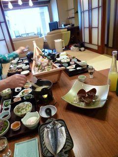 早春の東伊豆・稲取の旅♪ Vol12(第2日目:朝) ☆稲取温泉「浜の湯」のスイートルームで豪華な朝食を頂く♪