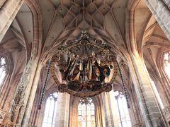 【欧州旅行32日目】 2本の尖塔を持つゴシック様式の教会 「St. Lorenz Kirche (聖ローレンツ教会)」
