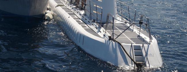いつもと違うグアム…� 潜水艦だーっ 〜2...