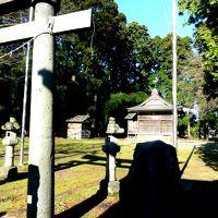 """奥の細道を訪ねて第14回12芭蕉句碑""""蓬莱に 聞かばや伊勢の初だより""""熊野神社 in 糸魚川"""