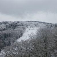 旭テングストーンはほぼ一日雪が降っていた