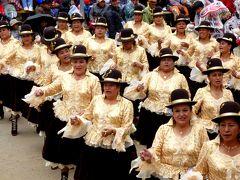 南米三大祭り&世界無形遺産♪オルーロのカーニバル♪