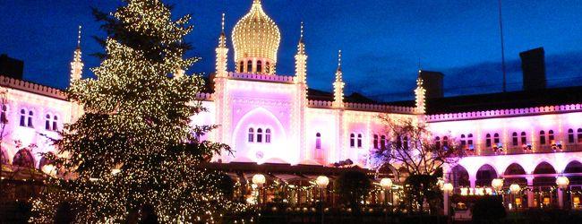 北欧の旅 �クリスマスのチボリ公園