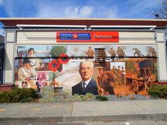 歴史を描く壁画の町 ラブリーなシュメイナス(Chemainus in Vancouver Island)