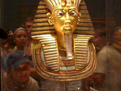 エジプト考古学博物館でツタンカーメンの黄金のデスマスクと再会