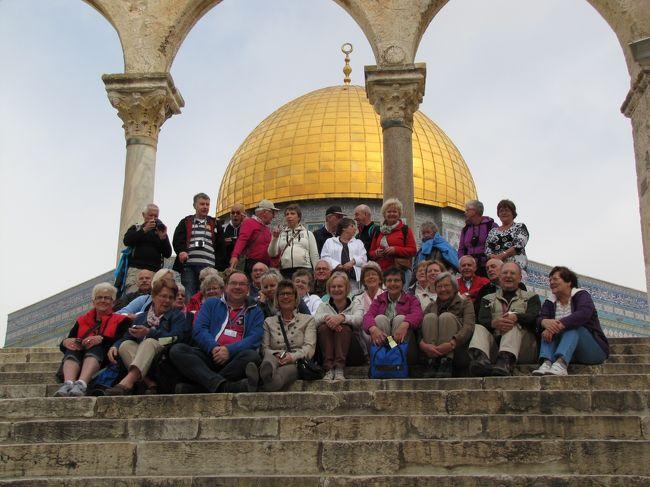 イスラエルの旅(6)・・最後の晩餐の部屋、ダビデ王の墓、嘆きの壁トンネルツアー、神殿の丘を訪ねて