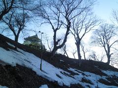 2012.03 春の18切符旅(4)食べ歩き&見て歩きマップで観光して、越前大野城に登ってみよう。