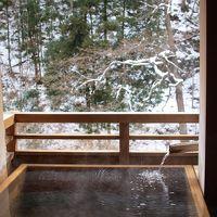 雪見露天風呂でゆっくり ~四万温泉1泊2日の旅~