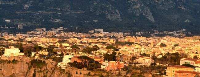 初春の南イタリア 3 ソレント Sorrento