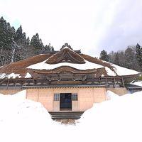 雪の矢島に知人に会いに行く3-金嶺山龍源寺,大黒屋食堂,帰京