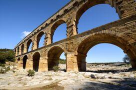 南仏ローマ遺跡をめぐる旅 【3】ポン・デュ・ガールとリュベロン(2012/3/19)