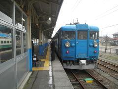 2012.03 春の18切符旅(14)青春18切符で富山出発。北陸本線を直江津へ。