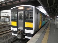 2012.03 春の18切符旅(18)今度は水郡線乗りつぶし。本日の目的地・水戸へ向かおう。