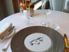 春の優雅なコートダジュール旅♪ Vol103(第9日目夜) ☆エズ(Eze):最後の夜はミシュラン星付き最高級フランス料理「La Chevre d'Or」で優雅なディナー♪