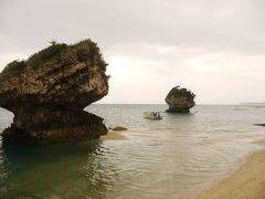 2012年沖縄本島旅7:みーばるビーチ