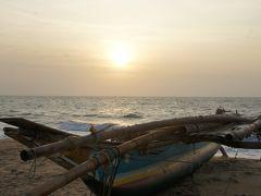 20120127 ニゴンボ ビーチの昼と夕暮れ
