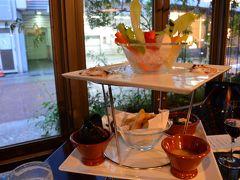 雨の銀座 街歩き 今宵のディナーはKIHACHI銀座本店 cafe&bar