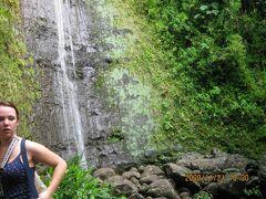 陰陽道健康散歩: ハワイマノアの滝:トレッキング オアフ島お勧め二箇所目