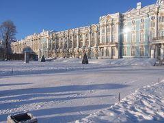 雪と青空のエカテリーナ宮殿(拡大版!)