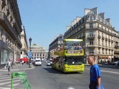 パリ・ロンドン紀行(5) 楽チン、快適そして安全! 二階建てオープンバスでパリ市内観光