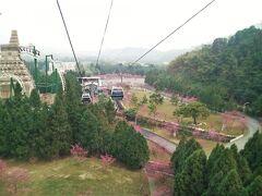 2010年 台湾中部横貫 08 日月潭ロープウェイ