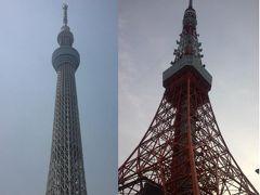 """地図を片手に """"ツリー to タワー Walk"""" 17kmの東京散歩♪"""
