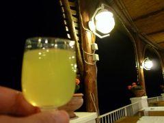 初夏のイスキア島で優雅なバカンス♪ Vol11(第2日目夜) ☆イスキア島サンタンジェロ:「パーク・ホテル・ミラマーレ」のテラスでレモンチェロとデザートを頂きながら夜景を眺める♪ジュニアスイートルームの美しいライトアップ♪